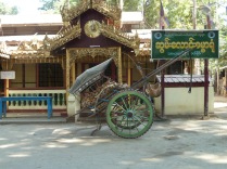 horses cart in Bagan
