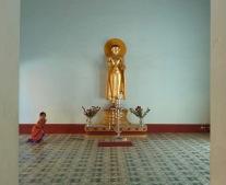 Buddha & kid