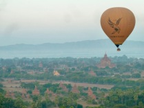 view over the plains of Bagan